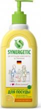 Средство Synergetic для мытья посуды и фруктов, лимон 500 мл