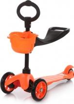 Самокат 21st scooTer Maxi Scooter с сиденьем, оранжевый