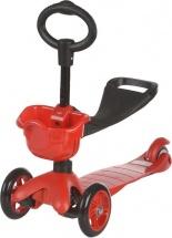 Самокат 21st scooTer Maxi Scooter с сиденьем, красный