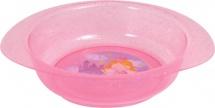 Тарелка Курносики Принцессы, розовый 250 мл