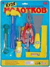 Набор инструментов Кузя Молотков 7 предметов