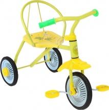 Велосипед MobyKids Дино, желтый