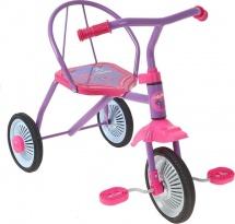 Велосипед MobyKids Дино, розовый