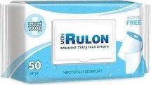 Туалетная бумага Mon Rulon влажная 50 шт