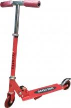 Самокат алюминиевый Scooter, красный