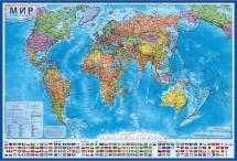 Карта Мира Globen Политическая 1:28