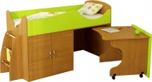 Набор детской мебели Гармония Карлсон Микро 202, бук/лайм