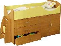 Набор детской мебели Гармония Карлсон Микро 201, бук/желтый