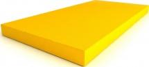 Мат Romana kid 100х50х6 см, желтый