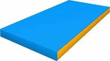 Мат Romana kid 100х50х6 см, голубой/желтый