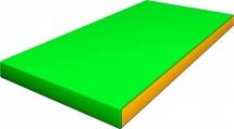 Мат Romana kid 100х50х6 см, зеленый/желтый