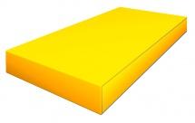 Мат Romana pro 100х50х10 см, желтый