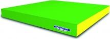 Мат Romana pro 100х100х10 см, зеленый/желтый