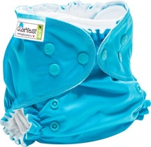 Многоразовый подгузник GlorYes Classic Plus (3-18 кг) синий