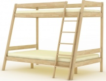 Кровать двухъярусная Березка 6