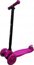 Самокат Kids Scooter 4-х колёсный, розовый