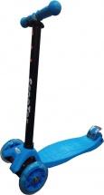 Самокат Kids Scooter 4-х колёсный, синий
