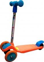 Самокат Kids Scooter 3-х колёсный, оранжевый
