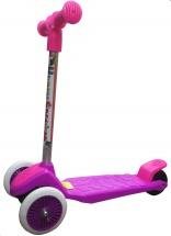 Самокат Kids Scooter 3-х колёсный, розовый