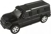 Машинка AutoTime European Armored Car со светом фар 1:43 черный