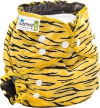 Многоразовый подгузник GlorYes Optima плюшевый (3-18 кг) тигруля