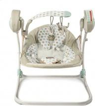 Электрокачели Baby Care Flotter с адаптером, кремовый (Cream)