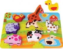Вкладыши-фигурки Mapacha Животные