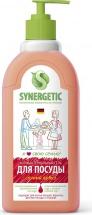 Средство Synergetic для мытья посуды и фруктов, арбуз 500 мл