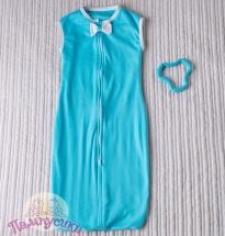 Спальный мешок Пампусики Матрешка 6-24 мес, голубой