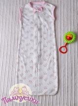Спальный мешок Пампусики Матрешка 2-12 мес для девочки