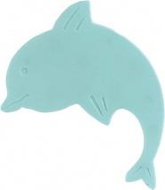 Мини-коврик Valiant Дельфин радужный, голубой