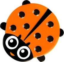 Мини-коврик Valiant Божья коровка, оранжевый