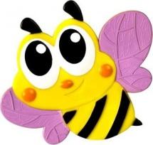 Мини-коврик Valiant Пчелка, розовый