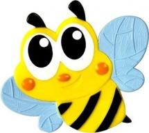 Мини-коврик Valiant Пчелка, голубой