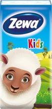 Детские носовые платки Zewa Kids 3 слоя 10шт