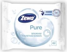 Туалетная бумага Zewa без аромата влажная 42 шт