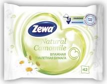 Туалетная бумага Zewa Ромашка влажная 42 шт