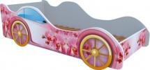 Кровать-машинка Кроватка 5 Орхидея