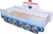 Кровать-кораблик Кроватка 5 Подводный мир