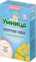 Каша Умница безмолочная низкоаллергенная кукурузная с 5 мес 200 г