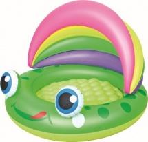 Бассейн BestWay Лягушка с навесом и надувным дном 52188