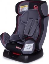Автокресло Baby Care Nika 0-25 кг черный/серый 1023