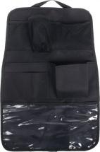 Органайзер Божья коровка на сиденье 7 карманов, чёрный