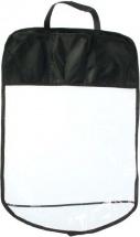 Защитная накидка Torso на сиденье 3 кармана 60х40 cм, черный