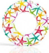 Круг для плавания Intex Звезды от 6-10 лет цвета микс