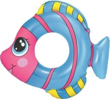 Круг для плавания Bestway Рыбки 81х76 см цвет микс 3-6 лет 36111
