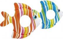 Круг для плавания Intex Тропические рыбки 3-6 лет цвет микс 59223