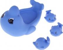 """Игрушка для купания Курносики """"Веселые дельфины"""""""