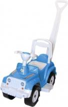Машина-каталка Орион Супер Сафари с ручкой, голубой