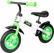 Беговел Moby kids KidRun 10 с надувными колесами зеленый